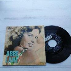 Discos de vinil: ABBE LANE CON XAVIER CUGAT Y SU ORQUESTA* – ADIOS PAMPA MIA EP ESPAÑOL 1963 VG/VG. Lote 233126850