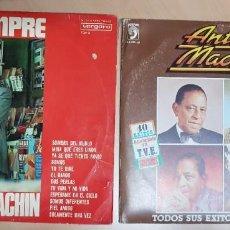 Discos de vinilo: DISCOS MUSICA VINILOS COLECCION ANTONIO MACHIN. Lote 233129615