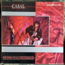 Discos de vinilo: TINO CASAL – TEATRO DE LA OSCURIDAD SPAIN 1984 MUY BUEN ESTADO. Lote 233135210