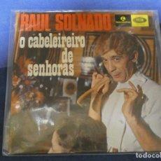 Discos de vinilo: EXPROBS4 DISCO 7 PULGADAS ESTADO VINILO ACEPTABLE RAUL SOLNADO O CABELEIREIRO DE SENHORAS. Lote 233136000