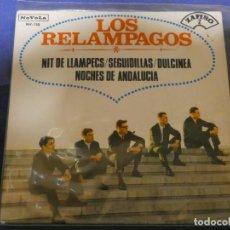 Discos de vinilo: EXPROBS4 DISCO 7 PULGADAS ESTADO VINILO BUENO LOS RELAMPAGOS NIT DE LLAMPECS. Lote 233136410