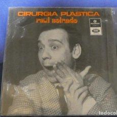Discos de vinilo: EXPROBS4 DISCO 7 PULGADAS ESTADO VINILO BUENO RAUL SOLNADO CIRURGIA PLASTICA. Lote 233137115