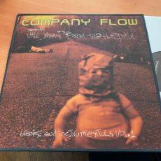 Disques de vinyle: COMPANY FLOW (LITTLE JOHNNY FROM THE HOSPITUL) 2 LP 1999 RWK 2002-1 (B-17). Lote 233141170