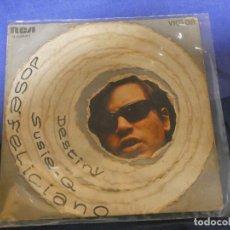 Discos de vinilo: EXPROBS4 DISCO 7 PULGADAS ESTADO VINILO ACEPTABLE JOSE FELICIANO DESTINY. Lote 233156665