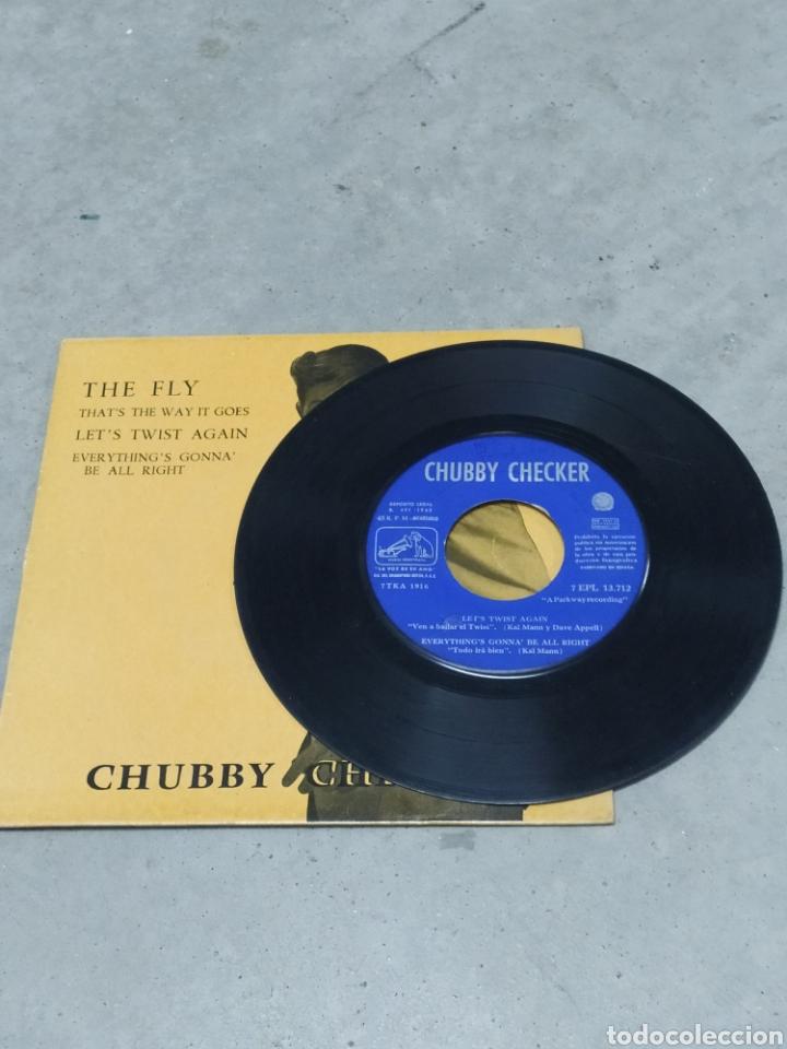Discos de vinilo: CHUBBY CHECKER * THE FLY +3 * EP ESPAÑA 1962 ODEON - Foto 3 - 233164270