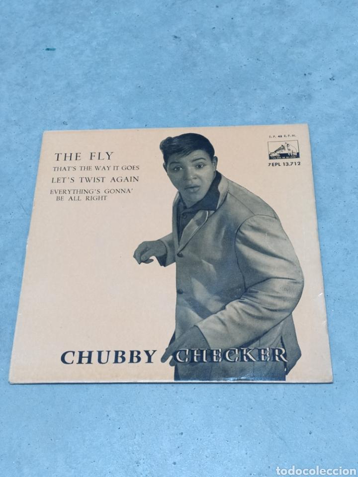 CHUBBY CHECKER * THE FLY +3 * EP ESPAÑA 1962 ODEON (Música - Discos de Vinilo - EPs - Rock & Roll)