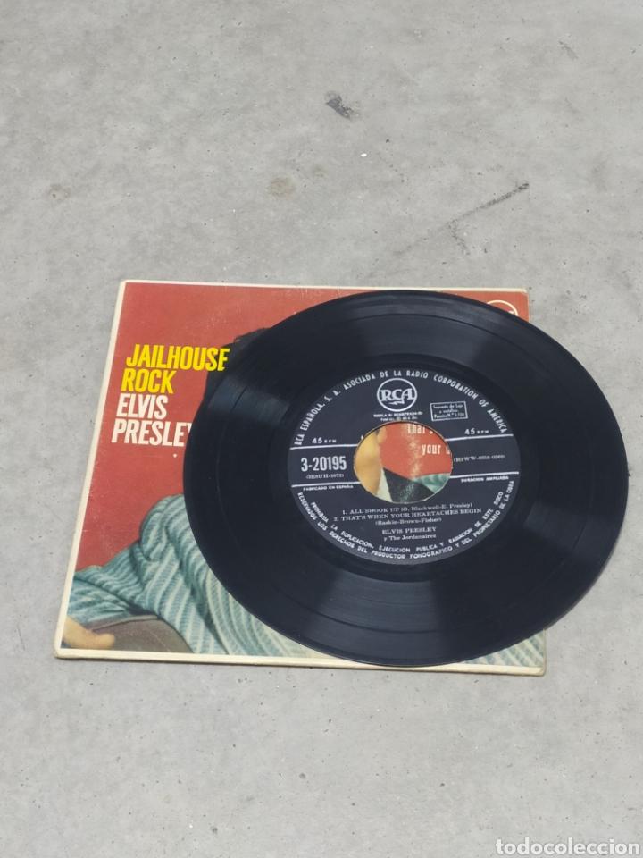 Discos de vinilo: ELVIS PRESLEY * JAILHOUSE ROCK +3* EP ORIGINAL ESPAÑOL RCA 1958 - Foto 3 - 233165530