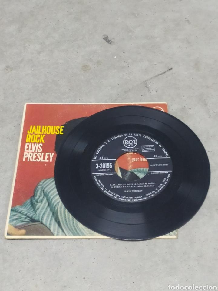 Discos de vinilo: ELVIS PRESLEY * JAILHOUSE ROCK +3* EP ORIGINAL ESPAÑOL RCA 1958 - Foto 4 - 233165530
