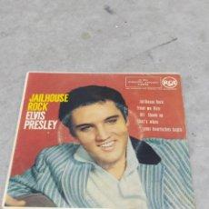 Discos de vinilo: ELVIS PRESLEY * JAILHOUSE ROCK +3* EP ORIGINAL ESPAÑOL RCA 1958. Lote 233165530