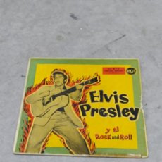 Discos de vinilo: ELVIS PRESLEY Y EL ROCK AND ROLL * MY BABY LEFT ME +3 * EP ORIGINAL ESPAÑA RCA 1959. Lote 233166685