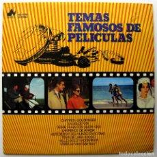 Discos de vinilo: TEMAS FAMOSOS DE PELÍCULAS - CHARADA / GOLDFINGER / GIGI / MOON RIVER ... - LP NEVADA 1976 BPY. Lote 233167955