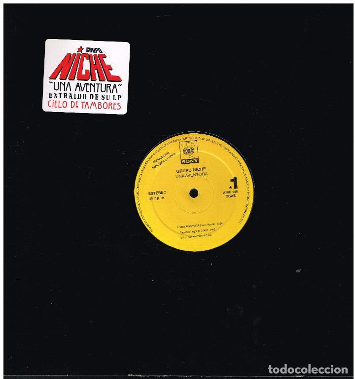 GRUPO NICHE - UNA AVENTURA - MAXI SINGLE 1992 - PROMO (Música - Discos de Vinilo - Maxi Singles - Grupos y Solistas de latinoamérica)