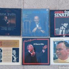 Discos de vinilo: LOTE DE 7 LPS DE FRANK SINATRA. Lote 233180360