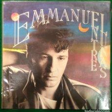 Disques de vinyle: EMMANUEL - ENTRE LUNAS - LP RCA DE 1988 , ENCARTE CON LETRAS , PERFECTO ESTADO. Lote 233198860