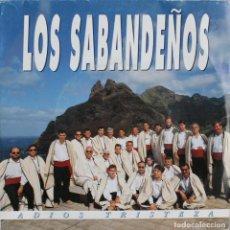 Discos de vinilo: LOS SABANDEÑOS// ADIOS TRISTEZA// 1992// SINGLE PROMO// ZAFIRO. Lote 233209000