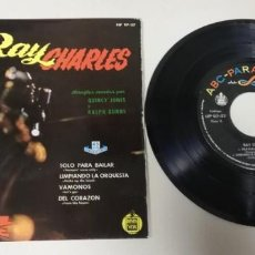 "Discos de vinil: 0121 - RAY CHARLES QUINCY JONES - VIN 7"" POR VG DIS NM. Lote 233234310"