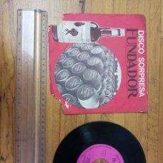 Discos de vinilo: DISCO DE VINILO DE 45RPM FUNDADOR SORPRESA WALDO DE LOS RÍOS 1969. Lote 233244765
