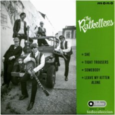 Discos de vinilo: THE RATKELLERS ‎- SHE - EP SPAIN 2014 - MARLOWE RECORDS ‎MR001EP - MINT. Lote 233272875