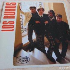 Discos de vinilo: LOS BUHOS – ATRAPADO + 2 - EP 1996. Lote 233296645