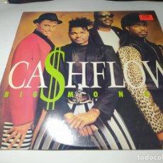 Discos de vinilo: LP - CA$HFLOW – BIG MONEY - 422 832 187-1 ( VG+ / VG+) US 1988. Lote 233297290