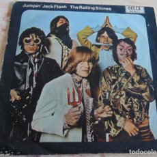 Dischi in vinile: THE ROLLING STONES – JUMPIN' JACK FLASH / CHILD OF THE MOON - SINGLE 1968. Lote 233297635