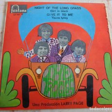 Dischi in vinile: THE TROGGS – NIGHT OF THE LONG GRASS + 3 - EP 1967. Lote 233298005