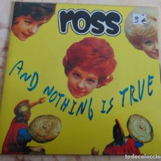 Discos de vinilo: ROSS ‎– AND NOTHING IS TRUE - EP 1996. Lote 233298070