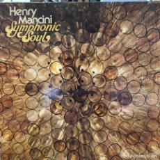Discos de vinilo: LP ESTADOUNIDENSE DE HENRY MANCINI & HIS CONCERT ORCHESTRA AÑO 1975. Lote 233307600