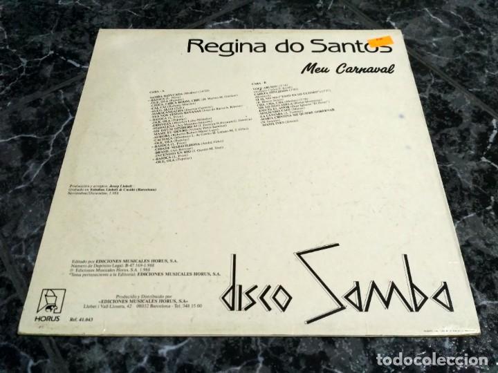 """Discos de vinilo: Regina Do Santos - Meu Carnaval (12"""") - Foto 2 - 233358255"""