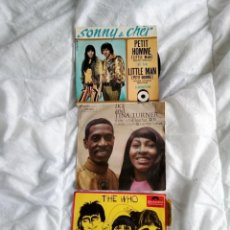 Discos de vinilo: LOTE 3 EPS/THE WHO- SONNY & CHER- IKE AND TINA TURNER.. Lote 233359020