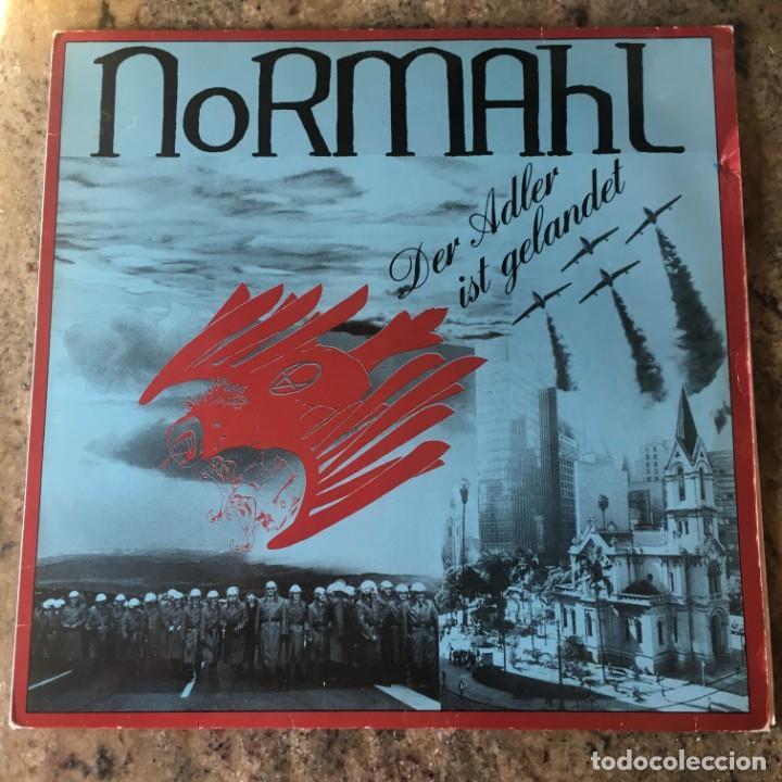 NORMAHL - DER ADLER IST GELANDET LP . 1984 GERMANY (Música - Discos - LP Vinilo - Punk - Hard Core)