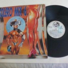 Dischi in vinile: BOLERO MIX 6 - QUIQUE TEJADA - BLANCO Y NEGRO 1990. LP. Lote 233395330