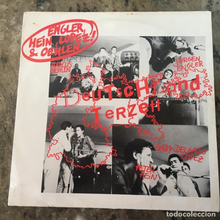DEUTSCHLAND TERZETT / O.R.A.V.S (LIEDERMACHOS)  . LP . 1981 GERMANY (Música - Discos - LP Vinilo - Punk - Hard Core)