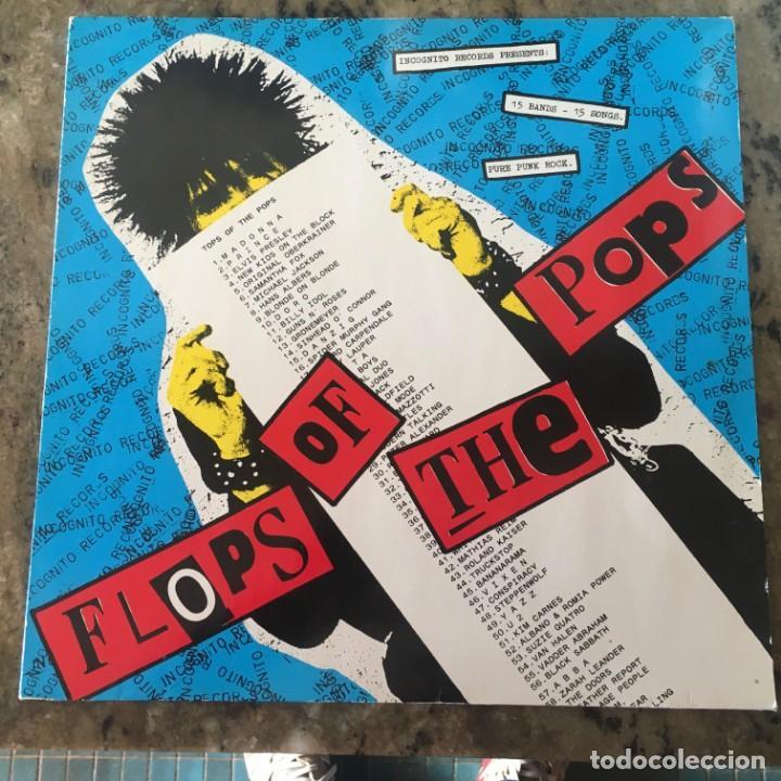 FLOPS OF THE POPS - LP . 1991 . PUNK . INCOGNITO RECORDS GERMANY (Música - Discos - LP Vinilo - Punk - Hard Core)