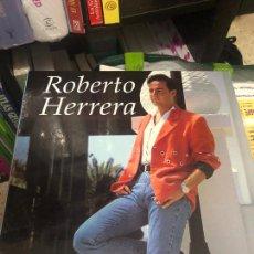 Discos de vinilo: LP VINILO MAXI SINGLE ROBERTO HERRERA PRESENTADOR TVE LAS PALMAS DE GRAN CANARIA JABICOMBE JABI CD. Lote 233409930