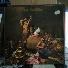 Disques de vinyle: LA BIONDA - HISPAVOX. Lote 233411590