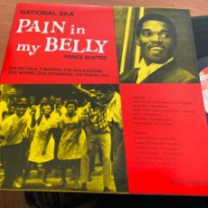 Discos de vinilo: PRINCE BUSTER (NATIONAL SKA PAIN IN MY BELLY) LP JAMAICA (B-17). Lote 233430515