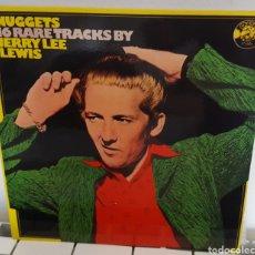 Disques de vinyle: LP / JERRY LEE LEWIS - NUGGETS, 16 RARE TRACKS BY JERRY LEE LEWIS - 1978 EDICIÓN ESPAÑOLA. Lote 233430740