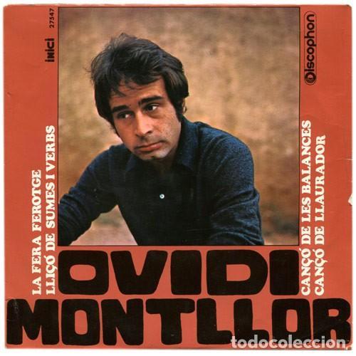 OVIDI MONTLLOR - LA FERA FEROTGE - EP DISCOPHON 1968 (Música - Discos de Vinilo - EPs - Cantautores Españoles)