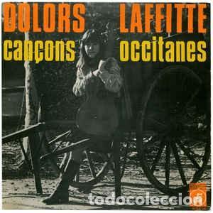 DOLORS LAFFITTE – CANÇONS OCCITANES – EP SPAIN 1968 – CONCENTRIC + HOJA (Música - Discos de Vinilo - EPs - Cantautores Españoles)