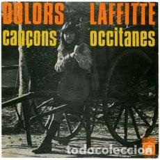 Discos de vinilo: DOLORS LAFFITTE – CANÇONS OCCITANES – EP SPAIN 1968 – CONCENTRIC + HOJA. Lote 233441710