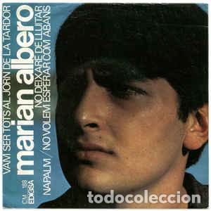 MARIAN ALBERO – VAM SER TOTS AL JORN DE LA TARDOR + 3 TEMAS EP EDIGSA SPAIN 1967 (Música - Discos de Vinilo - EPs - Cantautores Españoles)