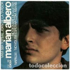 Discos de vinilo: MARIAN ALBERO – VAM SER TOTS AL JORN DE LA TARDOR + 3 TEMAS EP EDIGSA SPAIN 1967. Lote 233442855