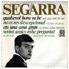 Discos de vinilo: LLEÓ SEGARRA – NO ÉS RES D'EXCEPCIONAL (IT'S NOT UNUSUAL) - EP CONCENTRIC 1965 + DOCUMENTO. Lote 233447765