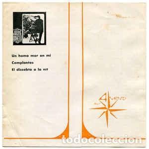 Discos de vinilo: JAUME ARNELLA GRUP DE FOLK UN HOME MOR EN MI + 2 EP ALS 4 VENTS 1968 + DOCUMENTO - Foto 2 - 233449055