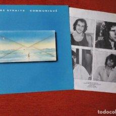 Discos de vinilo: DIRE STRAITS - COMUNIQUÉ - LP. Lote 233466315