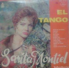 Discos de vinilo: SARITA MONTIEL LP SELLO GAMMA-HISPAVOX EDITADO EN MÉXICO, EL TANGO.... Lote 233478850