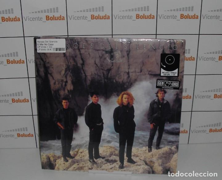HÉROES DEL SILENCIO EL MAR NO CESA CD + LP-VINILO NUEVO Y PRECINTADO ENVIÓ CERT A ESPAÑA GRATIS (Música - Discos - LP Vinilo - Grupos Españoles de los 90 a la actualidad)