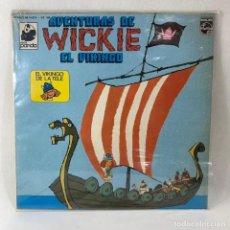 Discos de vinilo: LP - AVENTURAS DE WICKIE EL VIKINGO. Lote 233494885