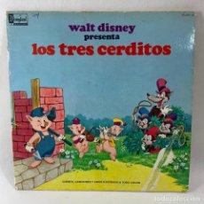 Discos de vinilo: LP - WALT DISNEY PRESENTA LOS TRES CERDITOS. Lote 233495175